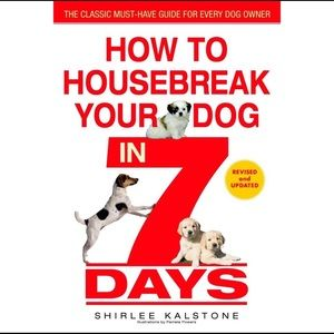 4/$15 🌻 How to Housebreak Your Dog in 7 Days Book